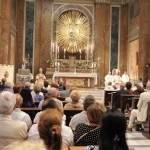 Inaugurazione dipinti presbiterio 3 settembre 2016